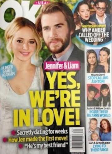 Jennifer Lawrence and Liam Hemsworth: In Love?!?