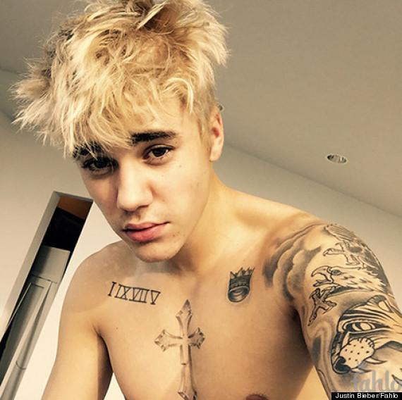 Justin Bieber Hair Change - 32 Totally Crazy Celebrity Hairstyles ...