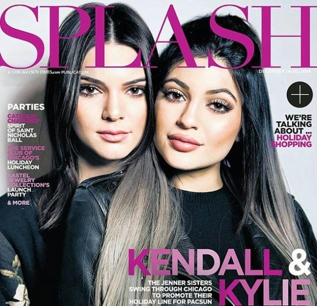 Kendall and Kylie Jenner Splash Magazine