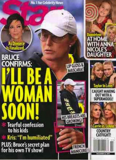 Bruce Jenner Star Cover