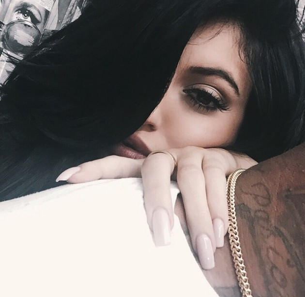 Kylie Jenner and Tyga on Instagram