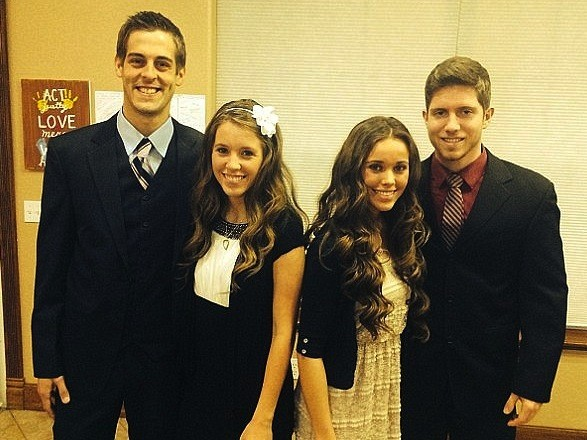 Jill and Derick Dillard, Jessa and Ben Seewald