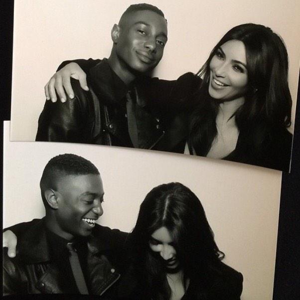 Kim Kardashian Actually Smiles