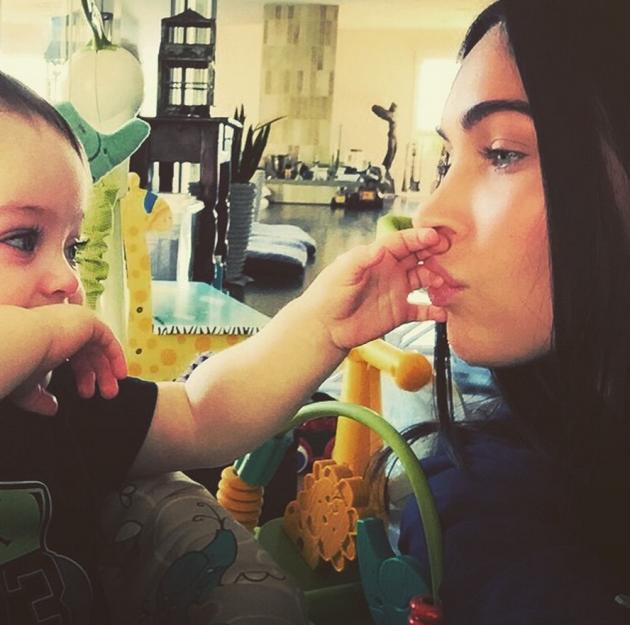 Megan Fox, Son