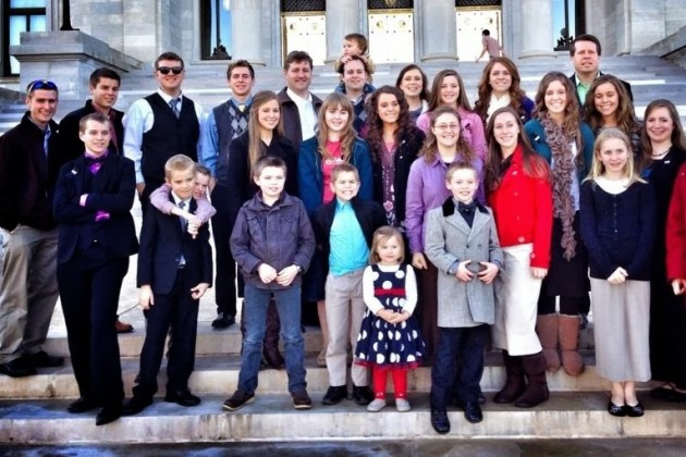 A Duggar Family Photo