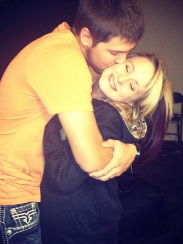 Jeremy and Leah Calvert Hug