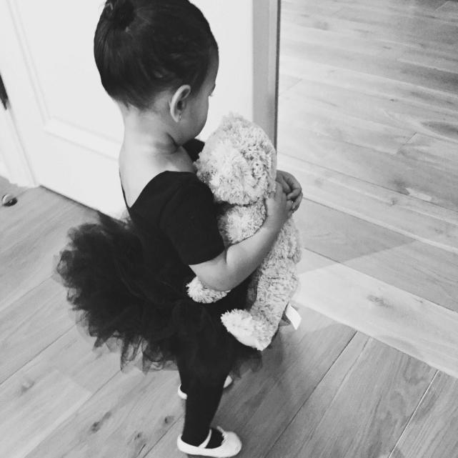 North West in a Tutu