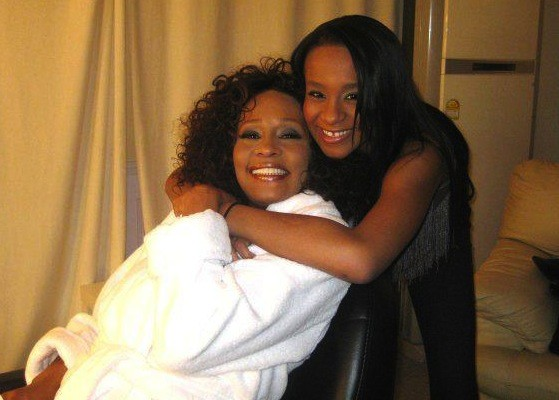 Bobbi Kristina Brown and Whitney Houston