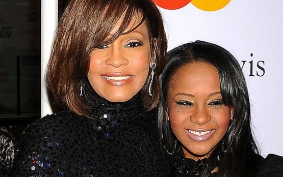 Whitney and Bobbi Kristina Picture