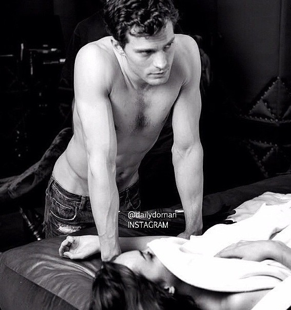 Jamie Dornan Shirtless Image