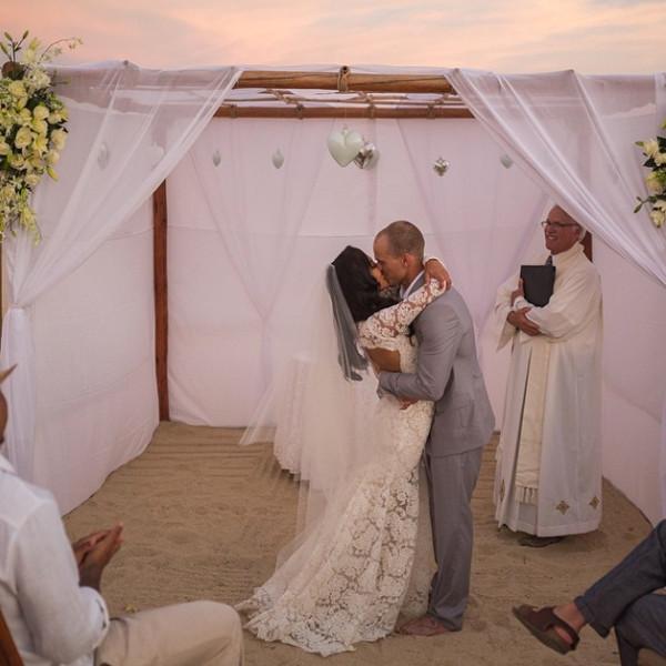 Naya Rivera Wedding Photo