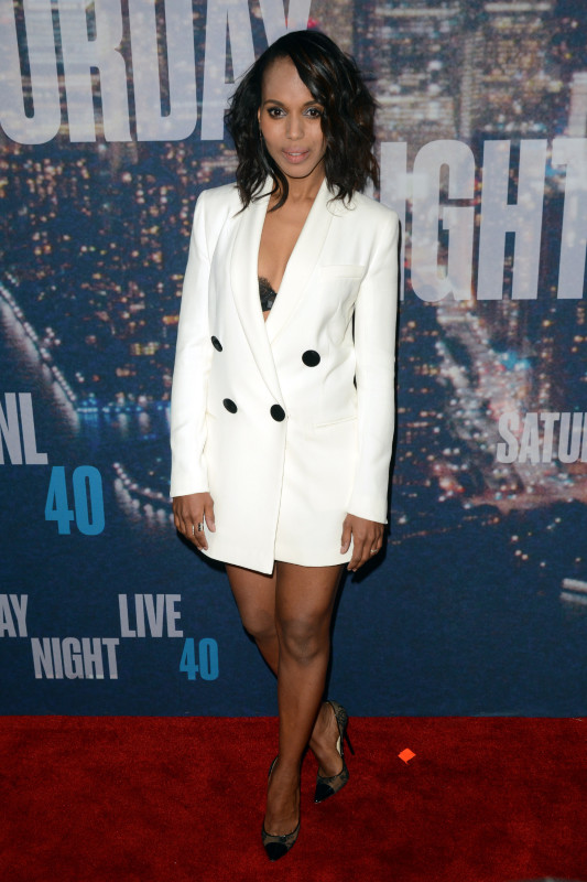 Kerry Washington at SNL 40
