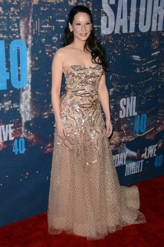Lucy Liu at SNL 40