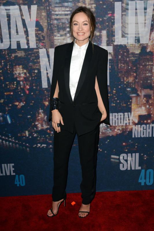 Olivia Wilde at SNL 40