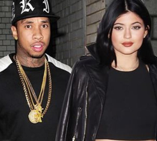 Kylie Jenner and Tyga: All Black Everything