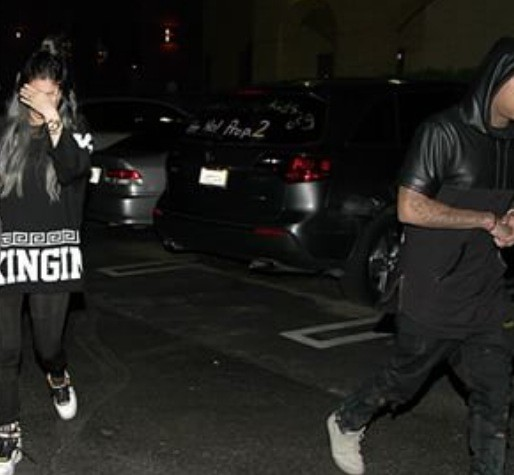 Kylie Jenner and Tyga Avoid the Paparazzi