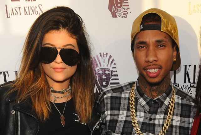 Tyga and Kylie Photo