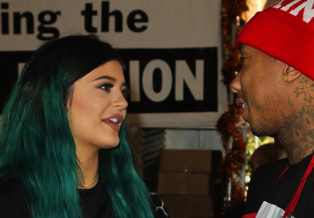 Tyga, Kylie Jenner Picture