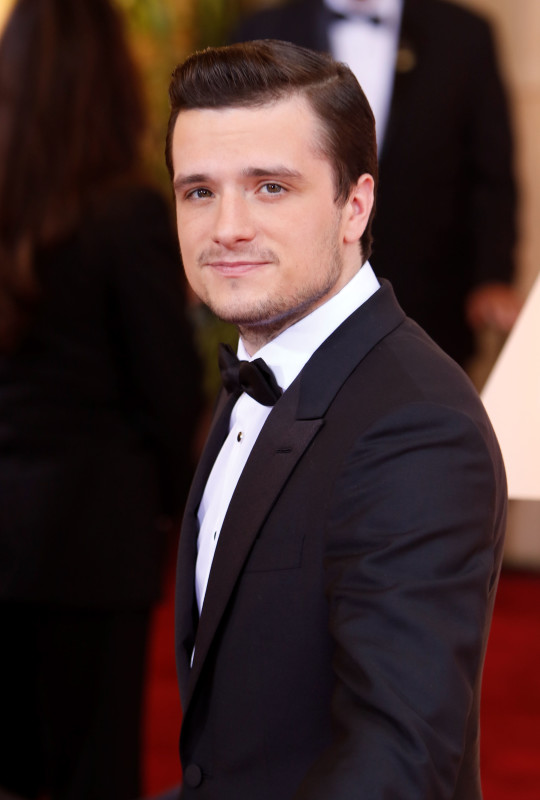 Josh Hutcherson at the 2015 Oscars
