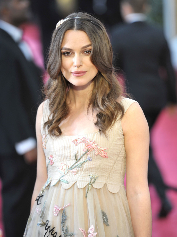 Keira Knightley at the 2015 Oscars