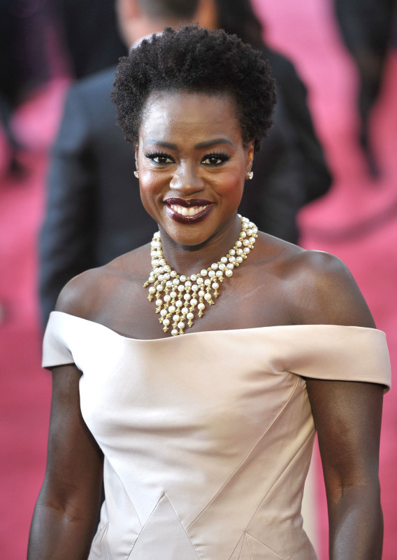 Viola Davis at the 2015 Oscars