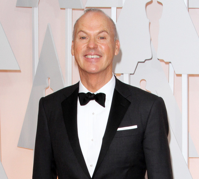 Michael Keaton at the 2015 Oscars