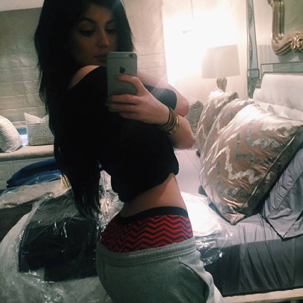 Kylie Jenner Underwear Selfie