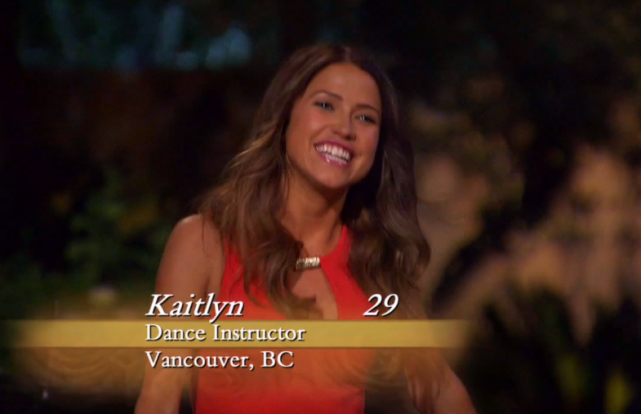 Kaitlyn Bristowe on The Bachelor