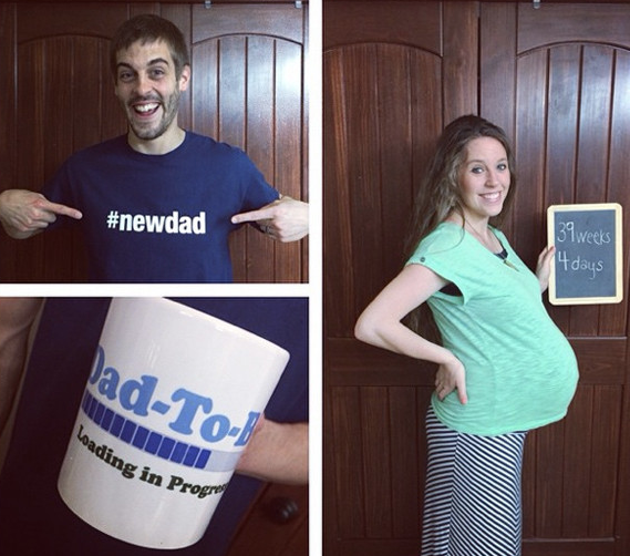 Jill Duggar Baby Bump 39 Weeks