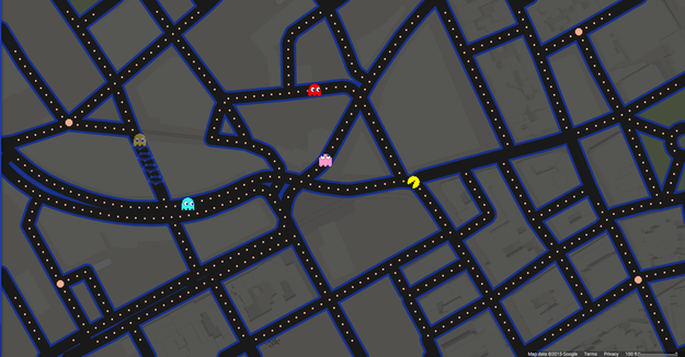 Pac-Man's Big Google Maps Adventure in ...