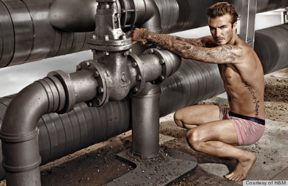 21 Drool-Worthy David Beckham Underwear Photos