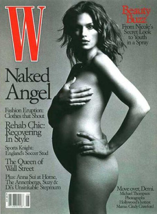 15 Celebrities Who Got Naked While Knocked Up