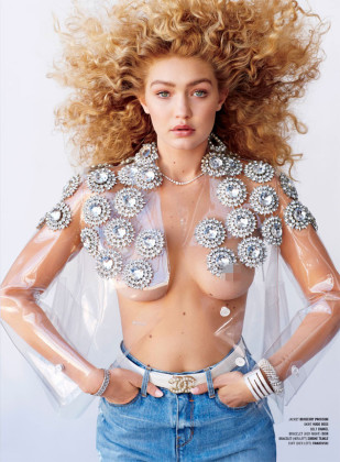 Gigi Hadid V Magazine Photos