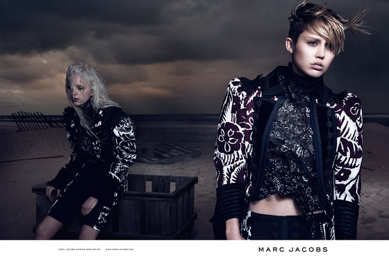 Miley Cyrus Goes Glam for New Marc Jacobs Campaign Pics