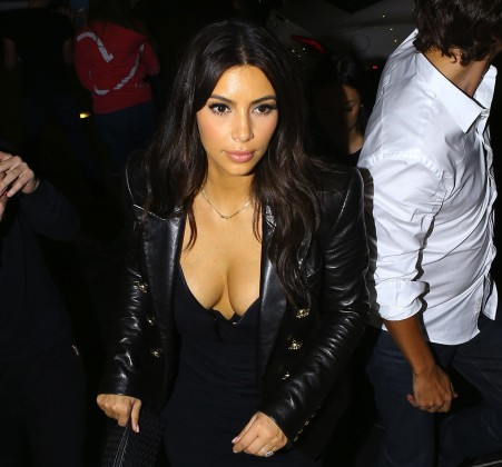 Kim Kardashian: Spending Money, Showing Cleavage