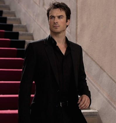 Ian Somerhalder Poses for Azzaro Pour Homme