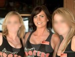 Samantha Burke, Hooters Girls