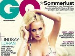 Lohan: German GQ Cover