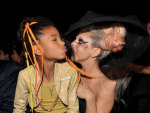 Lady Gaga and Willow Smith