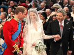 Kate and William at the Wedding