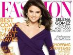 Selena Gomez Fashion Magazone Cover
