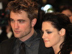 Robert Pattinson and Kristen Stewart in London