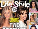 Jennifer Aniston and Angelina Jolie Tabloid Cover