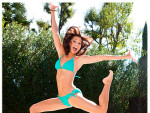 Melissa Rycroft in a Bathing Suit