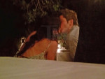 Arie Luyendyk Jr., Courtney Robertson Kiss
