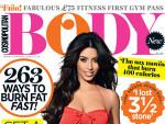 Kim Kardashian Cosmopolitan Body Cover