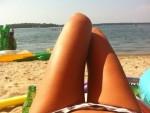 Heidi Klum Bikini Twit Pic