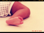 Blue Ivy Carter Foot