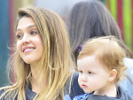 Jessica Alba as a Mother