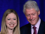 Bill and Chelsea Clinton Photo